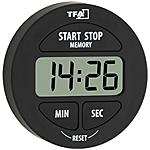 TFA - Timer Elettronico e Cronometro Nera LR44...