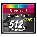 TRANSCEND - CF300 512MB 512GB CompactFlash SLC memoria flash