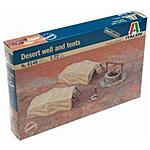 ITALERI - Kit 1:72 Diorami Accessori Pozzo e Tenda del...