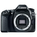 CANON - EOS 80D Body Sensore CMOS 24Mpx Display Touch 3