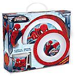 JOY TOY - Spider-Man - Set 2 Piatti E 1 Tazza In Plastica