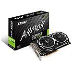 MSI - Scheda Video GeForce GTX 1060 Armor 6G OC 6 GB...