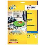 AVERY - Etichette Full-Face CD e DVD 117 mm Confezione 25...