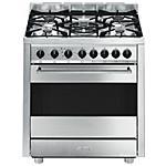 SMEG - Cucina a Gas con Forno Elettrico B7GMXI9 5 Fuochi...