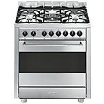 SMEG - Cucina a Gas B7GVXI9 5 Fuochi Colore Inox