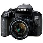 CANON - EOS 800D Kit EF-S 18-55 mm IS STM Sensore CMOS 24...