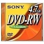 SONY - Dvd-rw 2x 4.7gb Slim Case