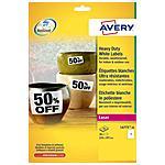 AVERY - Etichette in Poliestere per Stampante 210 x 297 mm...