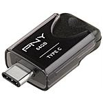 PNY - Chiavetta USB 64 GB Elite Interfaccia USB 3.1...