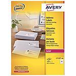 AVERY - Etichette per Indirizzi QuickPeel 64 x 34 mm...