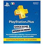 SONY - Abbonamento Playstation Network Plus Card 12 Mesi