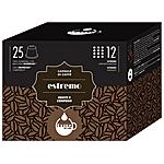 GOCCE DI CAFFE - Aroma ESTREMO - 25 Capsule Compatibili Con Tutte...