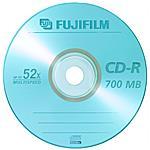 FUJIFILM - Cd-r 80 Min. 52x Jewcase 47384 10pz