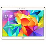 SAMSUNG - SM-T805 Galaxy Tab S White Display Super Amoled...