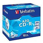 VERBATIM - CD-R Super AZO 52x 700MB Confezione 10 pezzi -...