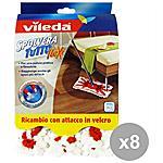 VILEDA - Set 8 Spolveratutto Ricambio Flexi Attrezzi...