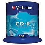 VERBATIM - CD-R Datalife 48x 700MB 100pz Spindle Retail Extra...