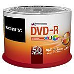 SONY - Dvd-r Printable 16x Spind. 50 Pz
