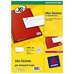AVERY - Mini Etichette per Stampanti Laser 55 x 12.7 mm...