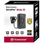 TRANSCEND - DrivePro Body 52 Full HD Wi-Fi 56g fotocamera per...