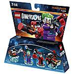 WARNER BROS - LEGO Dimensions Team Pack Joker e Harley