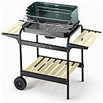 OMPAGRILL - Barbecue 60-40 Green / W Altezza 90 cm dimensioni...