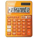 CANON - CALCOLATRICE CANON LS-123K Arancione 12 Cifre LCD