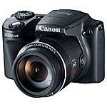 CANON - Power Shot SX510 Nero Sensore CCD da 12 Mpx Zoom...