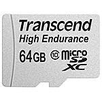 TRANSCEND - 64GB microSDXC 64GB MicroSDXC MLC Classe 10...
