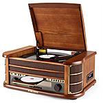 MAJESTIC - Stereo Giradischi Vintage TT34 33-45-78 giri USB /...