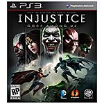 WARNER BROS - PS3 - Injustice: Gods Among Us