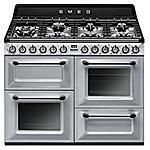 SMEG - Cucina a Gas TR4110S1 7 Fuochi Forno Elettrico...