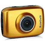 REEKIN - Sport Cam Action Camera Camcorder Arancio