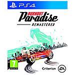 ELECTRONIC ARTS - PS4 - Burnout Paradise Remastered
