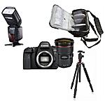 CANON - 6d Mark Ii + Ef 24-70mm F / 4l Is Usm + Bolso +...