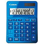 CANON - CALCOLATRICE CANON LS-123K Blu 12 Cifre LCD