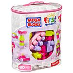 MEGA BLOKS - Sacca Eco 80 Pezzi Rosa
