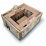 ITALERI - Kit 1:72 Diorami Accessori Casa Africana 6139S