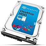 SEAGATE - Hard Disk Interno Desktop HDD 2 TB 3.5