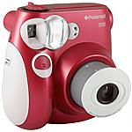 POLAROID - PIC-300 Fotocamera Istantanea colore Rosso...