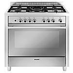 GLEM GAS - Cucina Elettrica M965MI 5 Fuochi Gas Forno...