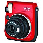 FUJIFILM - Instax Mini 70 Rosso Fotocamera a Sviluppo...