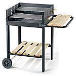 OMPAGRILL - 55565 Serie Black Line Barbecue in Acciaio...