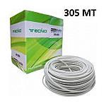 TECNO - Matassa Lan Cavo Di Rete Ethernet Cat6 Ftp 23awg...