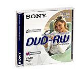SONY - DVD + RW 2.8 GB 60 Min 1 Pezzo DMW60A