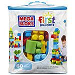 MEGA BLOKS - First Builders - Sacca Eco 60 Pezzi Classica