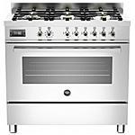 BERTAZZONI - Cucina Elettrica PRO906MFESXT 6 Fuochi a Gas Forno...