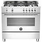 BERTAZZONI - Cucina Elettrica PRO905MFESXE 5 Fuochi a Gas Forno...