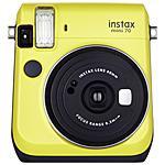 FUJIFILM - Instax Mini 70 Giallo Fotocamera a Sviluppo...
