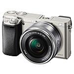 SONY - Alpha 6000 Silver kit 16-50 mm Sensore CMOS Exmor...